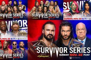 WWE Survivor Series 2020 Live