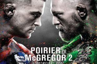 McGregor vs Poirier Live