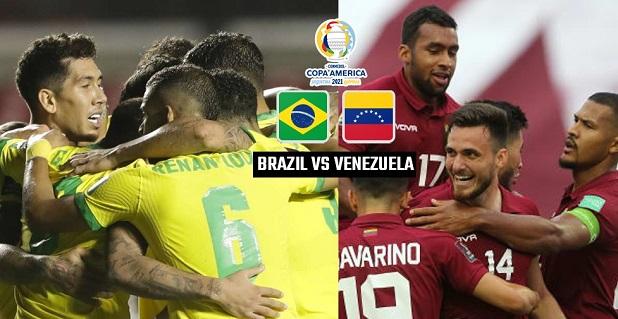 Brazil vs Venezuela Live