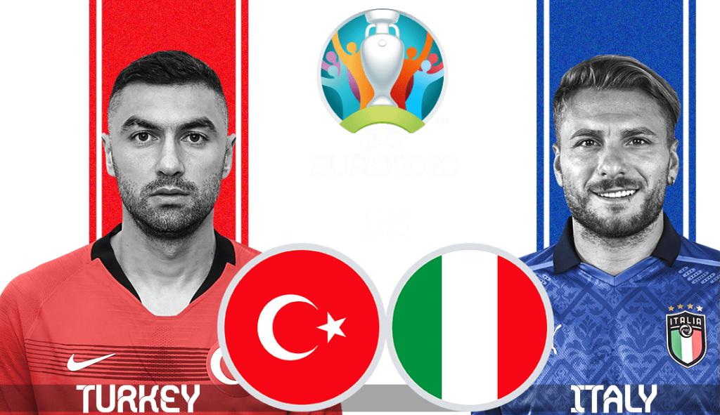 Turkey vs Italy Live