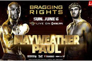 Mayweather vs Paul Live